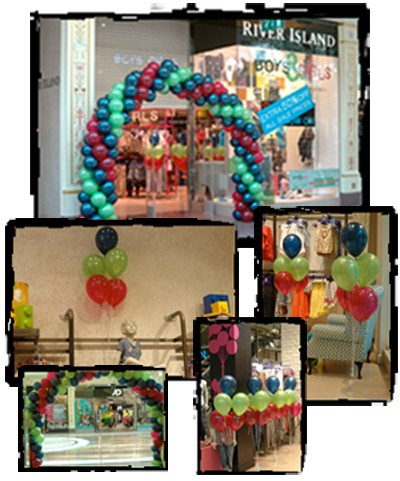 Balloon decor for Balloon decoration company